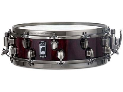 Mapex Black Panther Versatus 14x4 5/8 inch Mahogany Maple Snare Drum - Transparent Cherry