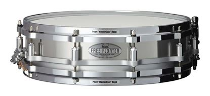 Pearl Free Floater 14x3.5 Stainless Steel Snare Drum