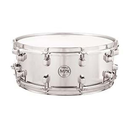 Mapex MPX 14x5.5 inch Steel Snare Drum Chrome Hardware