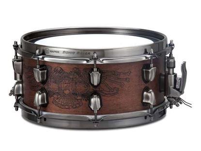 Mapex Black Panther Warbird 12x5.5 inch Maple-Walnut Snare Drum