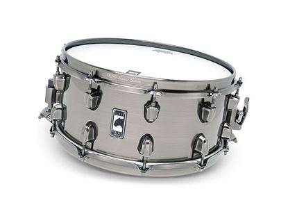 Mapex Black Panther Machete 14x6.5 inch Steel Snare Drum