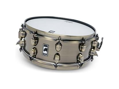 Mapex Black Panther Brass Cat 14x5.5 inch Brass Snare Drum