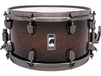 Mapex Black Panther Blaster 13x7 inch Maple Snare Drum - Transparent Walnut Burst