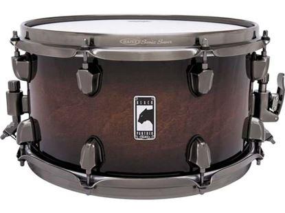 Mapex Black Panther Blaster 13x7 inch Maple Snare Drum - Transparent Walnut Burst