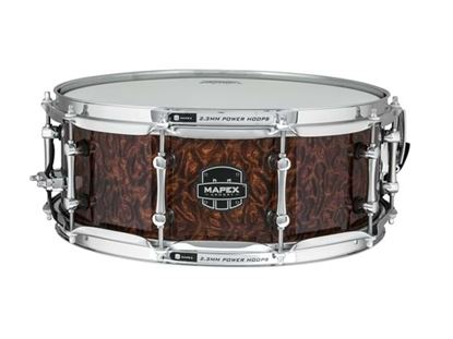 Picture of Mapex Armory Dillinger 14x5.5 inch Maple Burl Exotic Snare Drum