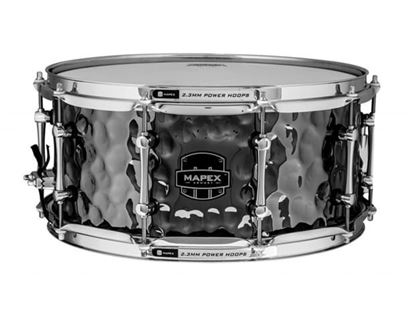 Mapex Armory Daisycutter 14x6.5 inch Hammered Steel Snare Drum