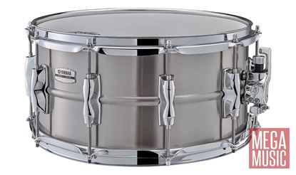 Yamaha Recording Custom Stainless Steel 14x7 inch Snare Drum