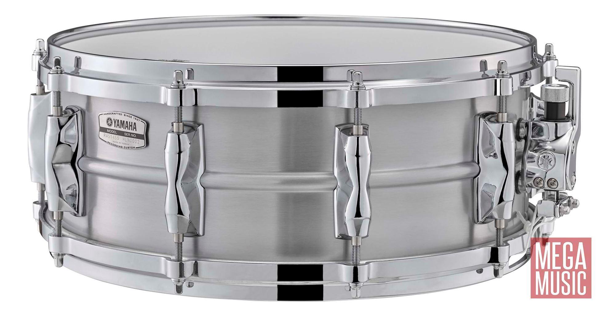 yamaha recording custom aluminium 14x5 5 snare drum perth mega music online. Black Bedroom Furniture Sets. Home Design Ideas