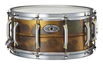 Pearl SensiTone Premium Beaded Brass 14x6.5 Snare Drum