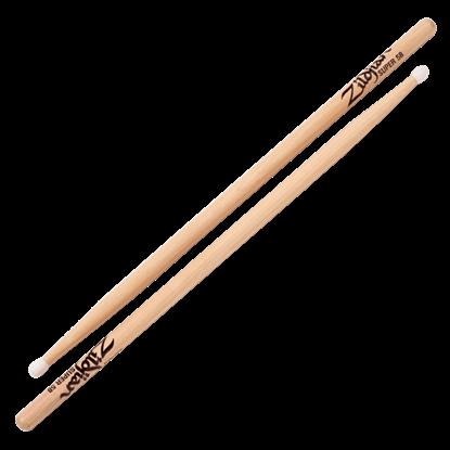 Zildjian Super 5B Nylon Tip Natural Drumsticks