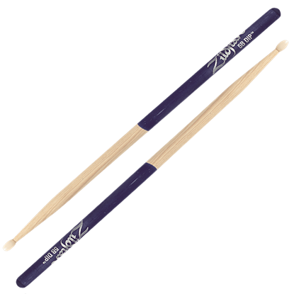 Zildjian 5B Nylon Tip Purple Dip Drumsticks