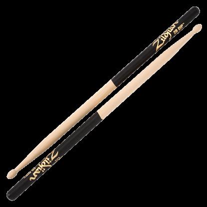 Picture of Zildjian 2B Wood Tip Black Dip Drumsticks