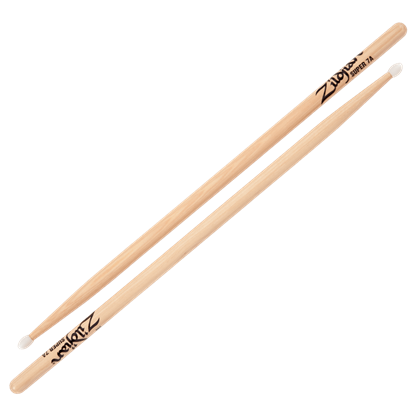 Zildjian Super 7A Nylon Tip Natural Drumsticks