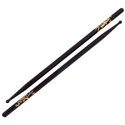 Zildjian 7A Wood Tip Black Drumsticks