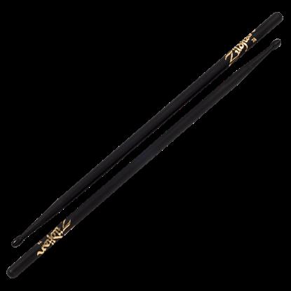 Picture of Zildjian 7A Nylon Tip Black Drumsticks