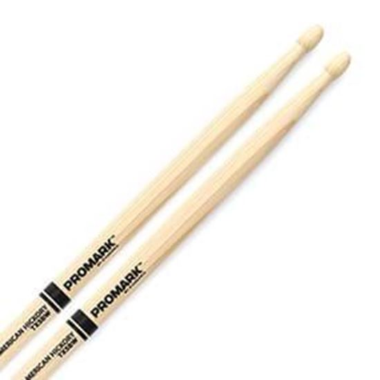 Promark AM Hickory 5B Wood Tip Drumsticks