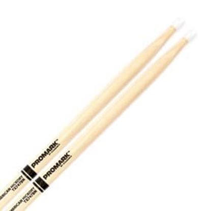 Promark AM Hickory 747B  - Super Rock Nylon Tip Drumsticks (TX747BN)