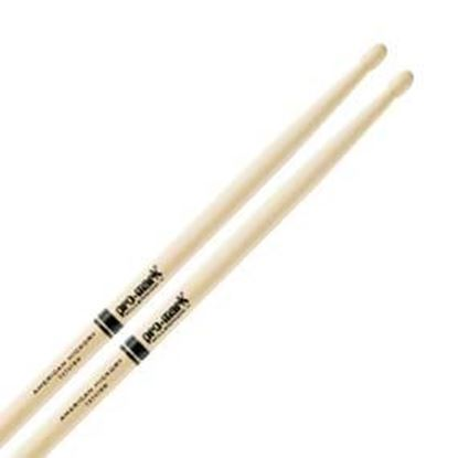 Promark AM Hickory 747B - Super Rock Wood Tip Drumsticks (TX747BW)