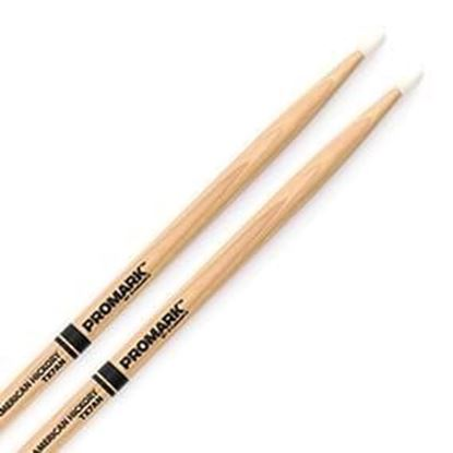 Promark AM Hickory 7A Nylon Tip Drumsticks