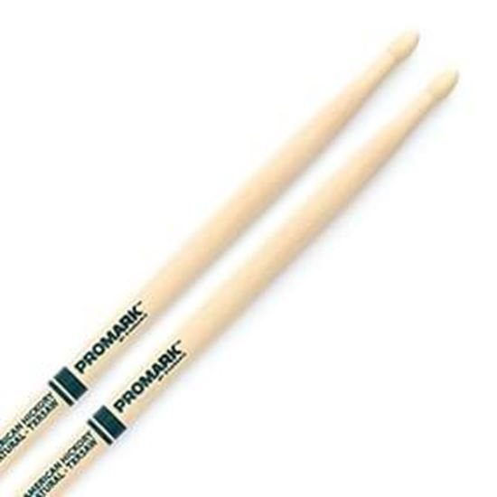 Promark AM Hickory 5A - The Natural Wood Tip Drumsticks
