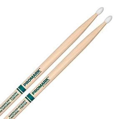 Promark AM Hickory 7A - The Natural Nylon Tip Drumsticks