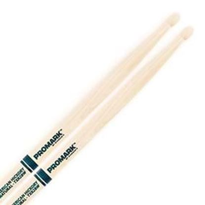 Promark AM Hickory 2B - The Natural Wood Tip Drumsticks