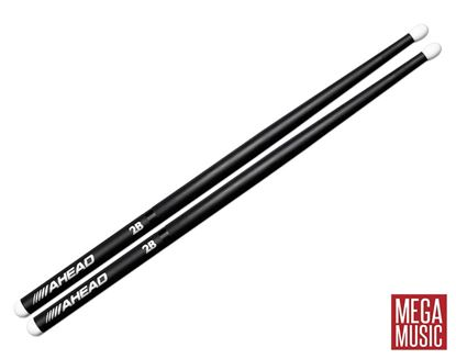 Ahead 2B Drumsticks - Nylon Tip