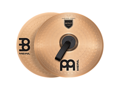 Meinl Student Range 16 Bronze Marching Cymbals Pair