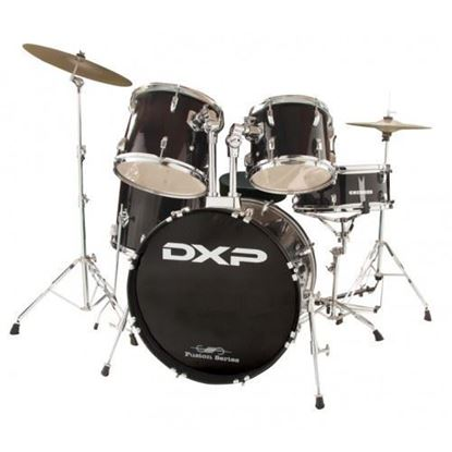 DXP Fusion 20 Drum Kit Package - Black