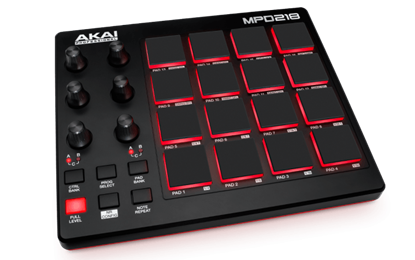 Picture of AKAI MPD218 16 Pad Controller
