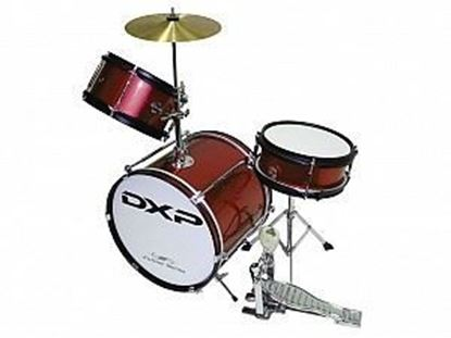 DXP Junior Series 3-piece Drum Kit - Metallic Purple (TXJ3PL)