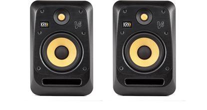 KRK V6 S4 Studio Monitor Speakers - 6 Inch (Pair)