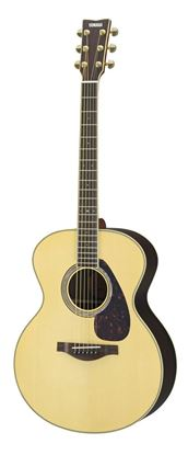 Picture of Yamaha LJ6-NT ARE Spruce Top Mini Jumbo Acoustic Guitar - Natural w Pickup