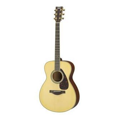 Yamaha LS6M-NT ARE  Spruce/Mahogany Concert Acoustic Guitar - Natural w Pickup