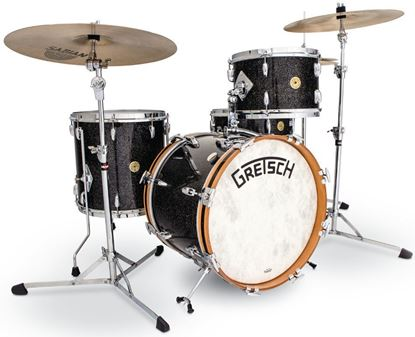 Picture of Gretsch Standard Broadkaster 4 -Piece w 18 Inch Kick Bop Drumkit - Anniversary Sparkle