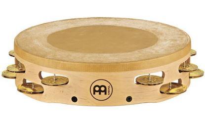 Picture of Meinl AE-MTAH2B Tambourine 2 Row - Brass