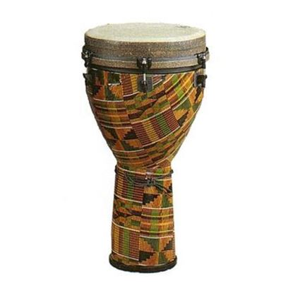 Remo Mondo Series Djembe, Kinte Kloth Finish