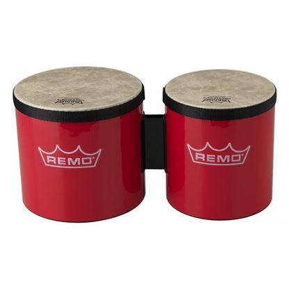 "Picture of Remo 6"" & 7"" Pre-Tuned Bongos - Red"