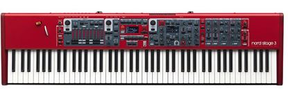 Nord Stage 3 Keyboard 88 Key Weighted Hammer Action