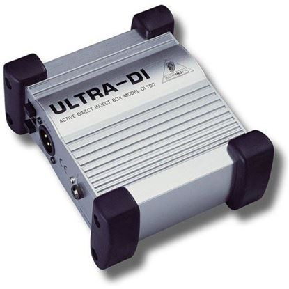 Behringer ULTRA-DI DI100 Battery/Phantom Powered DI-Box