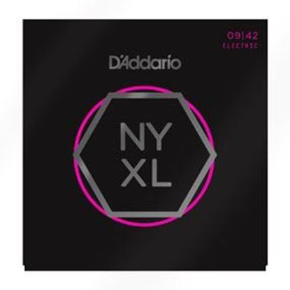 D'Addario NYXL0942 Nickel Wound Electric Guitar Strings Super Light 09-42