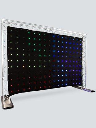 Chauvet Motion Drape LED Backdrop 2m x 3m Including Bag and Controller