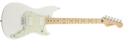 Fender Offset Duo-Sonic Electric Guitar MN, Actic White