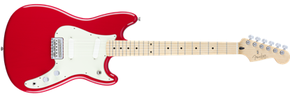 Fender Offset Duo-Sonic Electric Guitar MN, Torino Red