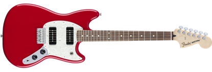 Fender Offset Mustang 90 Electric Guitar PF, Torino Red