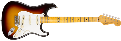 Fender Custom Shop 1958 Hourneyman Relic Stratocaster Electric Guitar MN, Choc 3-Colour Sunburst