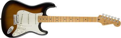 Fender Custom Shop 2015 American Custom Stratocaster Electric Guitar MN, 2-Tone Sunburst