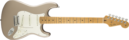 Fender Custom Shop 2015 American Custom Stratocaster Electric Guitar MN, Shoreline Gold