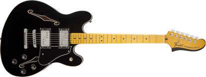Picture of Fender Modern Player Starcaster MN, Black