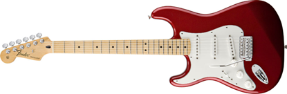 Fender Standard Stratocaster Left-Handed MN, Candy Apple Red